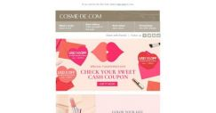 [COSME-DE.com] Color your Life in the Month of Love♥ Selected makeups are now on sale!