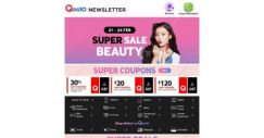 [Qoo10] LAST 2 DAYS Of Beauty Super Sale! Grab Best Selling Sukin Body Wash 1L x 3 $29.90, FREE 1 Box Masks & More!
