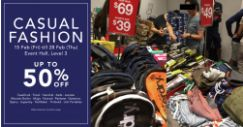 Tangs: Casual Fashion Sale with Up to 50% OFF Fossil, Keds, Superdry, Ted Baker & More!