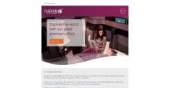[Qatar] Two seats or more, one great offer. Business Class fares for two starting from SGD 3,249pp*.