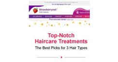 [StrawberryNet] 10 Top-Notch Haircare Treatments