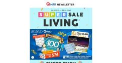 [Qoo10] Home & Living March Supersale! $100 Acuvue Voucher At $74 (Free $20 Ez-Link)