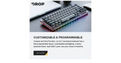 [Massdrop] Our ALT mechanical keyboard is ready to ship within 1 business day