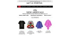[NET-A-PORTER] New arrivals – don't miss out