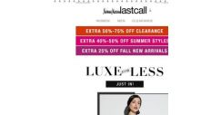 [Last Call] Luxe for less: Saint Laurent & St. John | extra 25% off fall new arrivals + even more deals