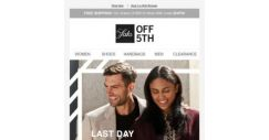 [Saks OFF 5th] Extra 40% OFF cold-weather everything ends today! + Limited-quantity Miu Miu styles!
