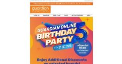 [Guardian] 🎂🎉 Guardian Online's Birthday Bash | Endless Deals and Savings!