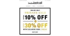 [Last Call] Private Sale Extra 10% off | Fab deals on Valentino | Karl Lagerfeld | St. John |