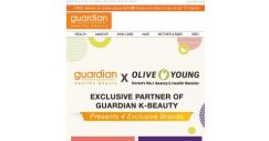 [Guardian] [Online Pre-launch] ✈️🇰🇷✨ GUARDIAN X OLIVE YOUNG Presents 4 EXCLUSIVE Brands!