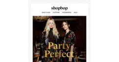 [Shopbop] Be the best dressed this holiday season