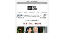 [Saks OFF 5th] Extra 20% OFF festive finds to put you in a holiday mindset + PRICE DROP Alert: LeSportsac & more!