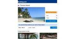 [Booking.com] Deals in Tioman Island from S$ 103