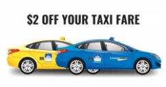 """ComfortDelGro: Get $2 OFF for """"Pay for Street Hail"""" Rides with DBS/POSB Cards!"""