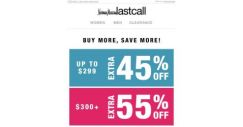 [Last Call] ENTIRE PURCHASE up to 55% off