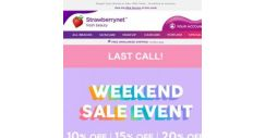 [StrawberryNet] 🥂Up to 83% off our Weekend Sale Event