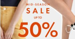 Charles & Keith: Mid-Season Sale with Up to 50% OFF + Extra 10% OFF Sale Items with Min. Purchase of 2 & More!