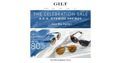 [Gilt] You're Invited: UP TO 80% OFF Sunglasses (!)