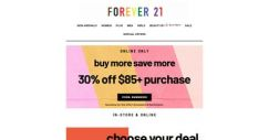 [FOREVER 21] $15 deals you can celebrate 🎉