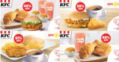 KFC: Enjoy Up to 45% OFF with NDP Coupons!