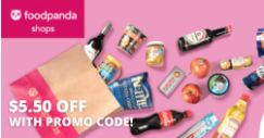 Foodpanda: Get Your Daily Essentials Via Foodpanda Shops & Enjoy $5.50 OFF with This Promo Code!