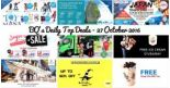 BQ's Daily Top Deals: FlyScoot Spooktacular Sale, Mandarin Gallery Free Ice Cream, Japan Travel Fair, Toymana Clearance Sale, Free Gong Cha & More!