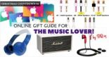 Christmas Countdown 2016 #4- Online Gift Guide for the Music Lover!