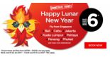 AirAsia: Lunar New Year Sale from SGD6 to Bandung, Cebu, Krabi, Kota Kinabalu & More!
