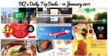 BQ's Daily Top Deals: Save Up to $8 on Taxi Rides, $9.95 Small Grill Set at The Manhattan FISH MARKET, $5 Tonkotsu Ramen, 20% OFF at Foodpanda, AirAsia's Lunar New Year Sale & More!