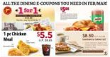 All the Dining E-Coupons in Singapore You Need to Save Now from Burger King, KFC, Delifrance & More! – February/March Version