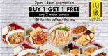 Shan Cheng Ipoh Horfun: Buy 1 Get 1 FREE Any 2 Main Course + $1 Hot Coffee/Tea on Weekdays