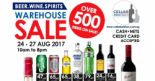 Cellarbration: Warehouse Sale with Over 500 Beer, Wine & Spirits On Sale!