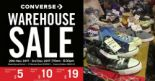 Converse: Year-End Warehouse Sale 2017 with Footwear, Apparel & Accessories from $5 Onwards!