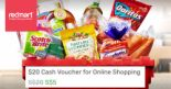 Redmart: $20 Cash Voucher at only $5 for NEW Customers!