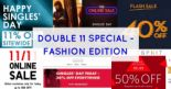 Double 11 Special – The FASHION Edition | Charles & Keith, Timberland, Uniqlo, Esprit, Ecco & More!