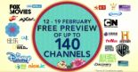 Singtel: All Singtel TV Customers Enjoy FREE Preview of Up to 140 Channels This CNY!