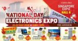 Singapore Expo: National Day Electronics Expo with Up to 80% OFF All Kinds of Electronics!