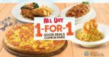 Pizza Hut: Enjoy 1-for-1 Mains All Day Every Weekday!