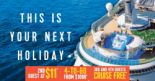 Royal Caribbean: NATA Travel Fair 2018 Offers – 2nd Guest at $11, 4-to-Go from $1088 & 3rd and 4th Guests Cruise FREE!