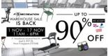 F1 Recreation: Warehouse Sale with Up to 90% OFF Fitness Accessories, Outdoor Furniture & Fitness Equipment