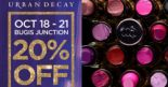 Urban Decay: Get 20% OFF Storewide at Bugis Junction Outlet!