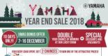 Yamaha: Xmas Bonus Offer with Up to 29% OFF Musical Instruments