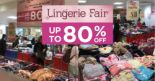 Takashimaya: Lingerie Fair with Up to 80% OFF Intimate Wear from Triumph, Sloggi, Hush Puppies, Aimer & More