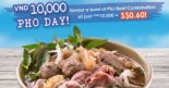 Pho Street: Enjoy a delicious bowl of Signature Pho Beef Combination for just $0.60 on 28 Feb 2019!