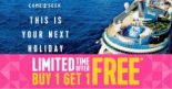 Royal Caribbean International: Buy 1 Get 1 FREE Cruise at Raffles City Roadshow!