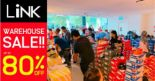 LINK Outlet Store: Warehouse Sale with Up to 80% OFF Adidas, Converse, Nike, New Balance and More!