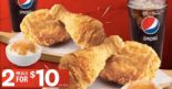 KFC: Enjoy 2 Sets of 2-Pc Meal at Only $10 on 29 Feb 2020!