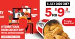 KFC: Enjoy 5 Pcs for $9.90 Chicken Bucket at KFC International Fried Chicken Day Virtual Eat-Together Event!