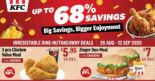 KFC: Save up to 68% with KFC coupons!