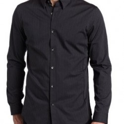 20% OFF! Calvin Klein Slim Fit Long Sleeve Shirt offered at $44.00 by Amazon