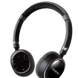 50% OFF! Creative WP-350 Wireless Bluetooth Headphones with Invisible Mic offered at $49.97 by Amazon